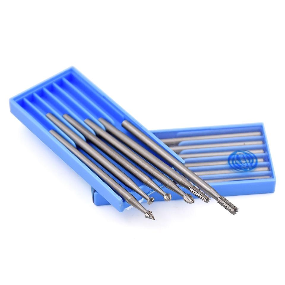 6 vnt plieniniai sukamieji šlifavimo įrankiai, šlifavimo - Abrazyviniai įrankiai - Nuotrauka 5