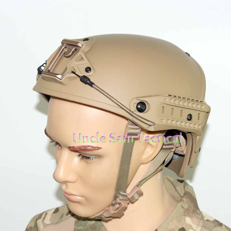 Casco táctico AF precisión ejército combate entrenamiento casco de paintball airsoft versión mejorada - 5