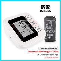 Intelligent Type Upper Arm Blood Pressure Monitor health care Portable Digital Blood Pressure Monitor RZ B26A