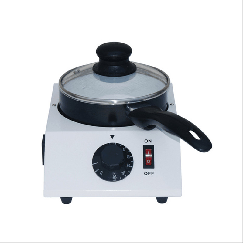 220V 40W Electric Chocolate Melting Furnace Chocolate Melter Stove Machine Melting Pot Single Cylinder single cylinder commercial chocolate melting machine fy qk 620 stainless steel chocolate melting pot 220v 1pc