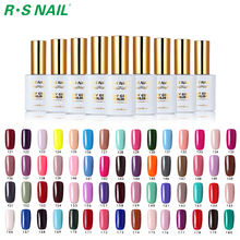 RS NAIL 15ML UV Gel 308 Barve Soak Off Gel Polish LED UV svetilka Quick Dry Gel Lak Lak Lakirate poljuben 1 barvni gel za nohte