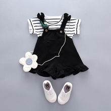 Baby Girl Clothing Set Striped Top Outfits