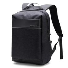 Business Men Backpack External USB Cahrge Waterproof Backpacks Men Large Capacity 15.6 Inch Laptop Backpack Casual Travel Bag