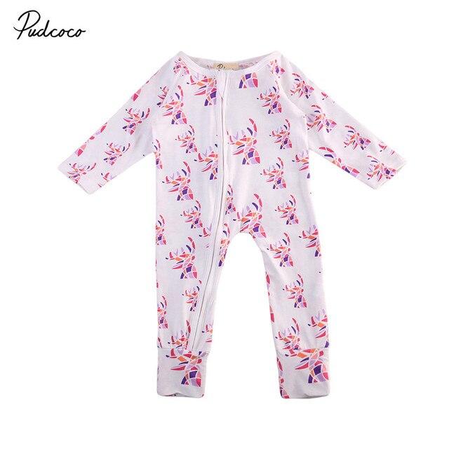 48acd448ed41f Chaud Bébé Vêtements Pyjamas Nouveau-Né Bébé Barboteuses Polaire Infantile  À Manches Longues Combinaisons Garçon