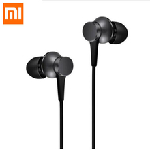 Original Xiaomi headset Mi Piston 3 In-Ear Fresh 3.5mm Wire Control Earphone 1.4m Music Stereo Mic for Huawei Xiaomi Smartphone