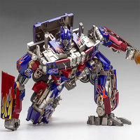 Wei Jiang SS05 MPP10 Transformation Movie Deformable Car Optimus prime Zinc alloy Action Figure Movable robot model boy toy