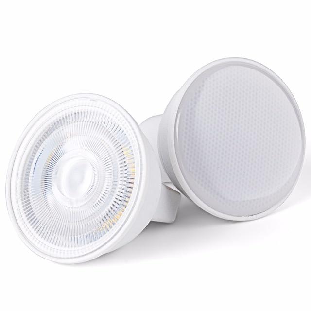 Bombilla LED GU10 de 220V, foco MR16, 7W, GU5.3, Bombilla para foco E27, Bombilla LED de maíz, 5W, Bombilla gu, 10 led, ampolla E14 2835