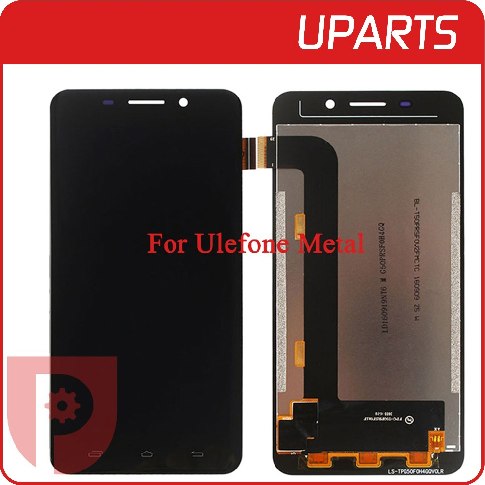 High Quality 5 0 For Ulefone Metal LCD Display Touch Screen Glass Digitizer Assembly Replacement Free