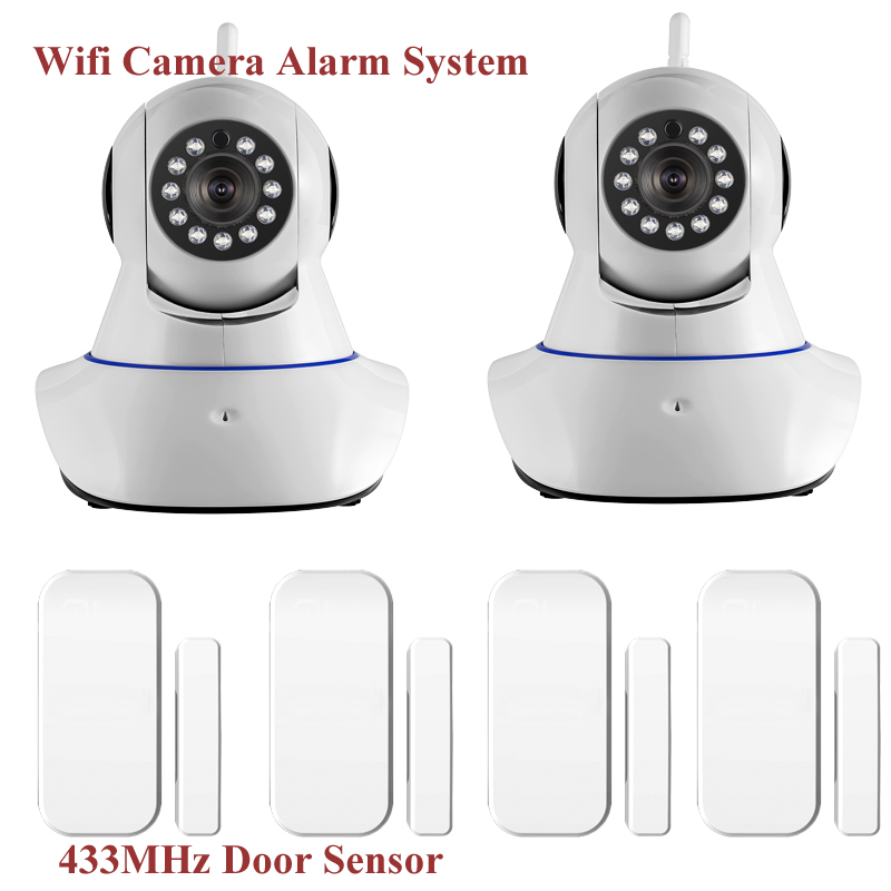 720P IP Camera Wireless WiFi IR Cut IP Alarm Camera HD 1MP CMOS Security CCTV IP Camera Alarm System hd 720p support alarm accessory wireless ip camera