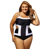 Women S Hollow Out Backless Bathing Suit Sexy Plus Size Off Shoulder Swimwear Plus Size Clothes