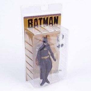 Image 2 - NECA 1989 باتمان مايكل كيتون 25th الذكرى البلاستيكية عمل الشكل تحصيل لعبة مجسمة