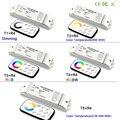 Bincolor led Диммируемый/CCT/RGB/RGBW/CW CCT led диммер приемник контроллер + RF беспроводной пульт дистанционного управления для светодиодной полосы света...