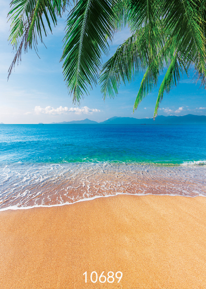 5x7ft Sea Backgrounds Summer Holiday Photo Backgrounds