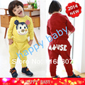 Free shipping girl boy clothing sets full sleeve kids clothes set 2pcs T shirt + pants