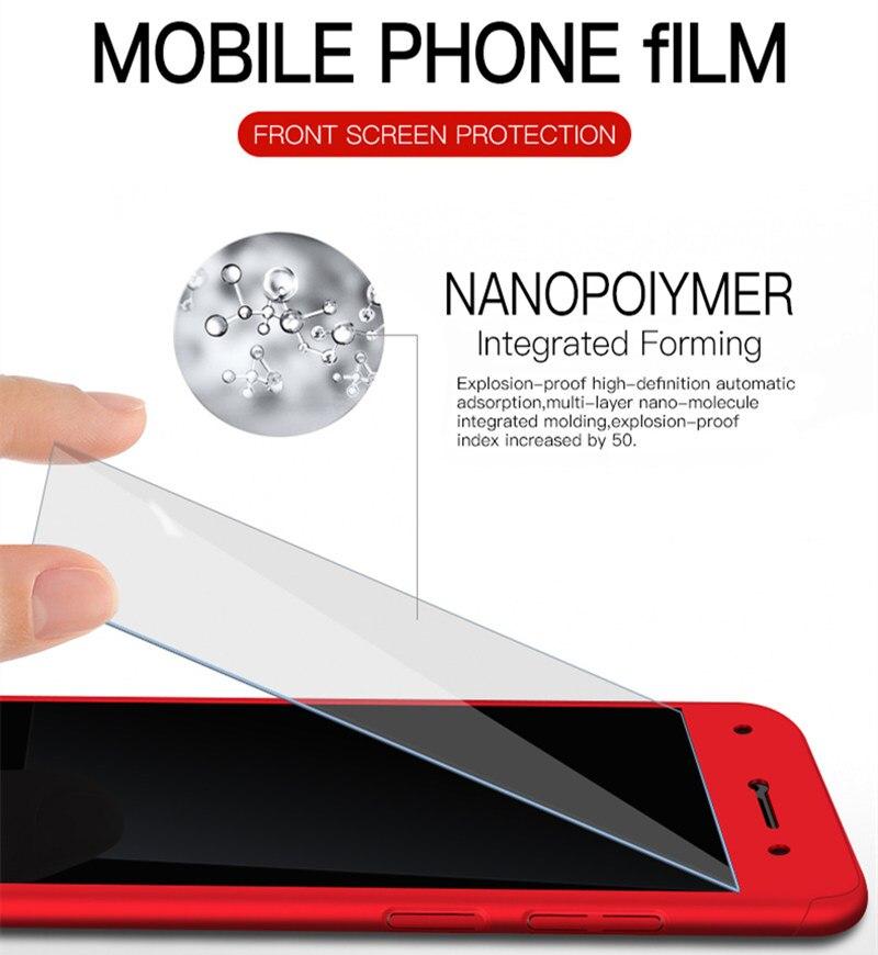 360 Full Cover Protection Case For Huawei Honor 8 9 10 Lite Hard Funda Cover For Honor 9i 7X 8X Max V8 V9 V10 Play Nova 5T Coque