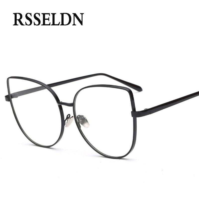 RSSELDN Neueste Frauen Optische Gläser Rahmen Cat Eye Brillen Frames ...