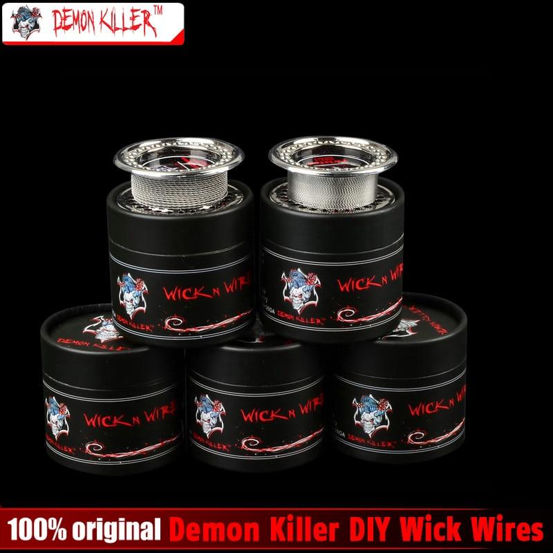 Demon Killer Wire DIY Atomizer Coils clapton tiger quad twisted alien fused clapton flat twisted mix wire for RDA & RBA Atomizer eleaf coral rda atomizer for diy