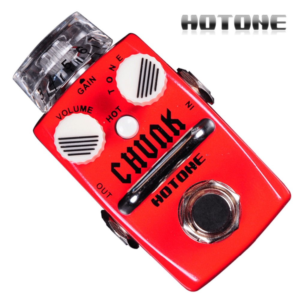 Hotone SDS-1 Chunk British Style Electric Guitar Distortion Pedal True Bypass Design Guitar Effect