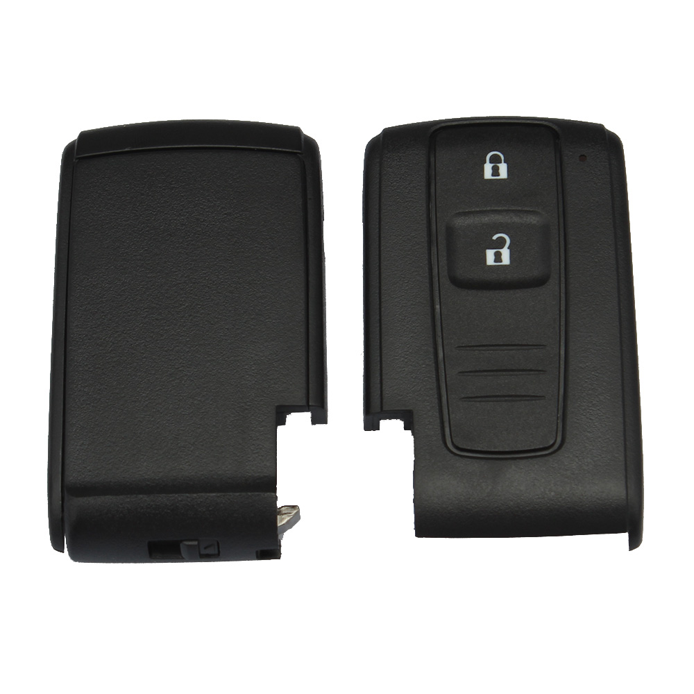 2Knapper Smart Key Remote Fob Case Key Shell Til TOYOTA Prius 2004 - Bilreservedele - Foto 5