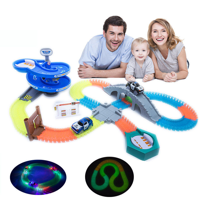 Magical Track Funny Glowing Race Track Glow Track Gifts Educational Toys