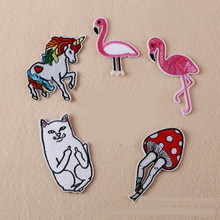 Lovely Animal Badge Repair Patch Embroidered Iron On Patches For Clothing Close Shoes Bags Badges Embroidery