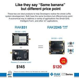 Image 2 - RAK831 LoRa/LoRaWAN Gateway Module, 433/868/915MHz, base on SX1301, Wireless Spread Spectrum Transmission, range up to 15KM