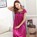 2015 summer style sexy women's fashion, Panas di penjualan !, Sexy Lingerie long section of ice silk applique free shipping