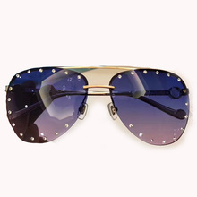 Pilot Sunglasses Women Brand Designer High Quality Vintage Fashion Eyewear Oculos De Sol Feminino Sun Glasses Women