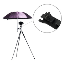 Outdoor Camera tripod umbrella Clip cramp holder stand for photographic