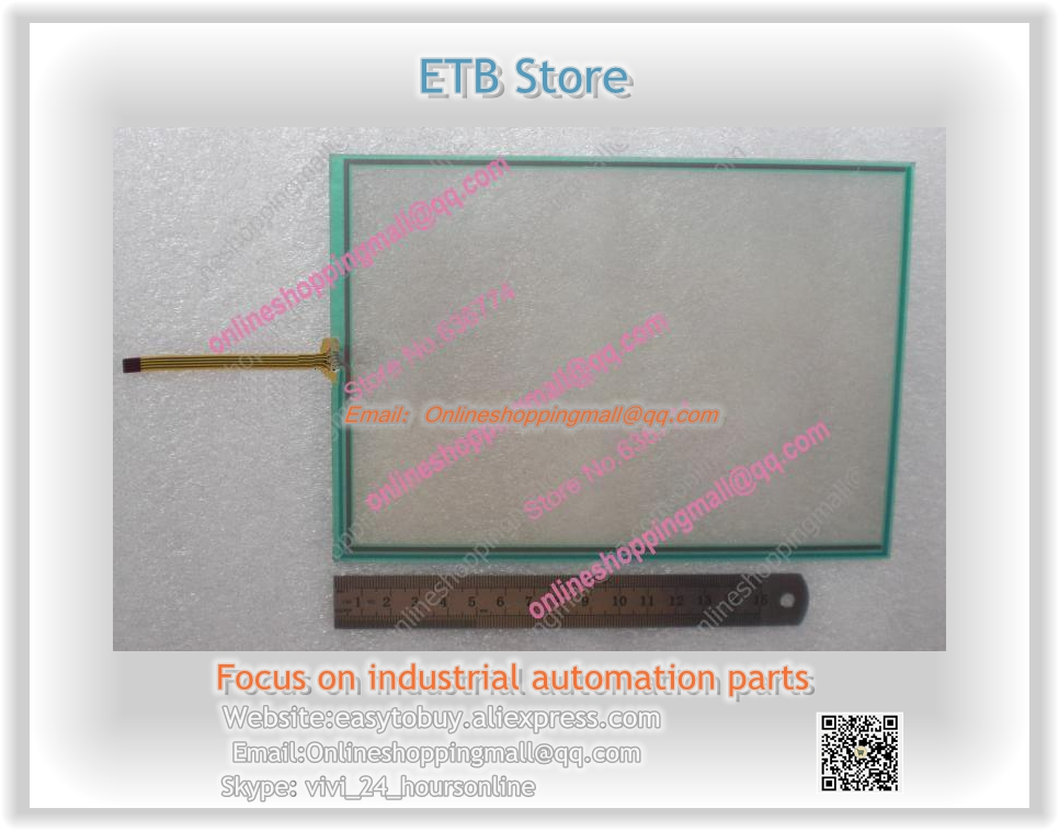 New Touch Screen glass PN: 1301-X460.01 Touch Panel