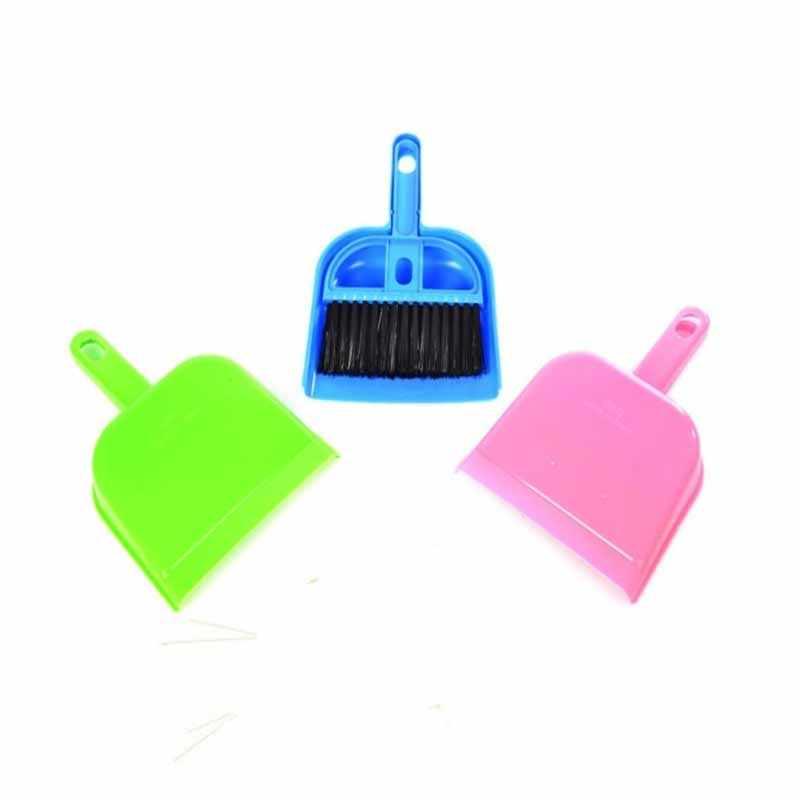 Wielofunkcyjny Mini pulpit Sweep szczotka do czyszczenia miotła klawiatura komputerowa ekran samochodowy ekran odkurzający szczotka do czyszczenia żaluzji narzędzie
