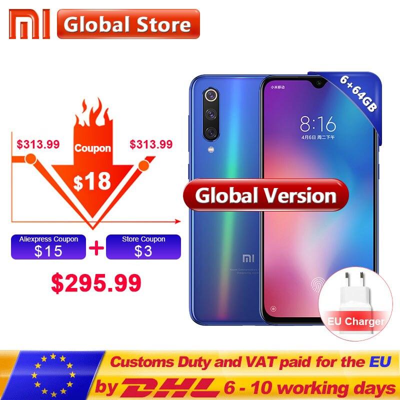 "Discreet Global Version Xiaomi Mi 9 Se 6gb 64gb Rom Mobile Phone Mi9 Se Snapdragon 712 Octa Core 5.97"" Full Screen 48mp Triple Camera"