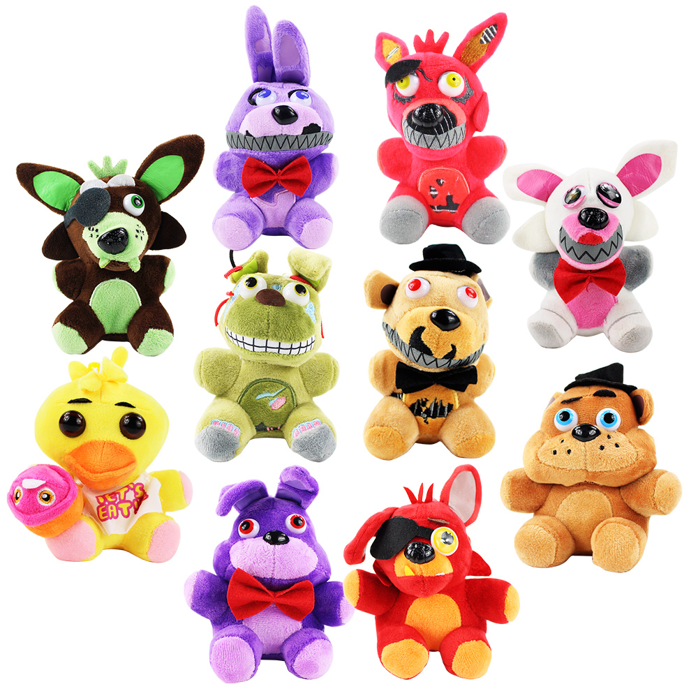 13 14cm Five Nights At Freddy's Plush Pendant FNAF