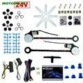 MOTOBOTS 24V автомобиль/грузовик универсальный 2-дверный электростеклокомплект с 3 шт./компл. переключателями и жгутом # CA1420