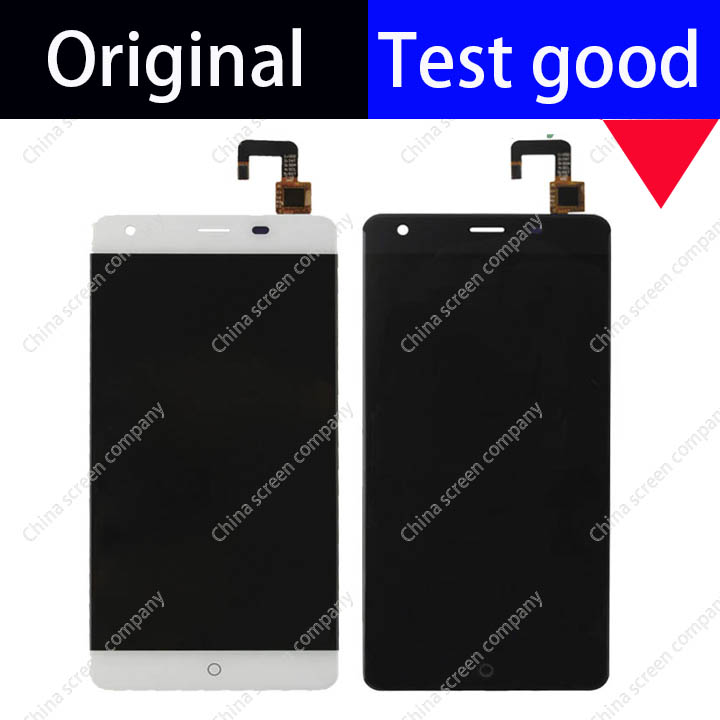 white black 100% original lcd display + touch screen TP sensor assembly for ulefone power Glass Panel Digitizer Replacement