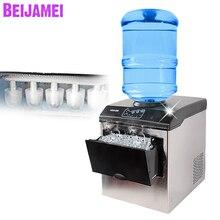 BEIJAMEI Новинка, баррель воды машина для производства льда 25 кг/24 ч Электрический коммерческих пуля ice block maker 220 В