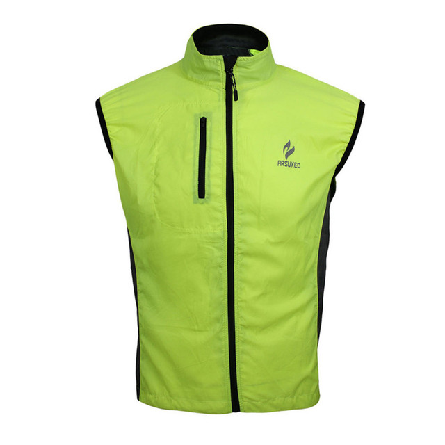 New Men Breathable Outdoor Sports Clothing Running Wear Vest Coat Cycling  Bike Bicycle Sleeveless Jacket Windproof Vests b2170496a