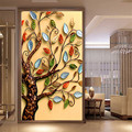 Unfinished DIY 5D Diamond Painting Cross Stitch Round Diamond Embroidery Rich tree Droplet Apple Diamond Mosaic for Home decor