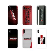 CASE IH Trator logo Para Apple iPhone X XR XS MAX 4 4S 5 5S 5C SE 6 6 S 7 8 Plus ipod touch 5 6 Acessórios Phone Cases Covers(China)