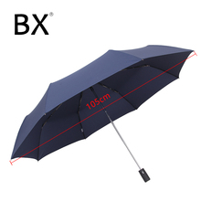 Bachon windproof umbrella large female male rain fully-automatic portable folding for men women