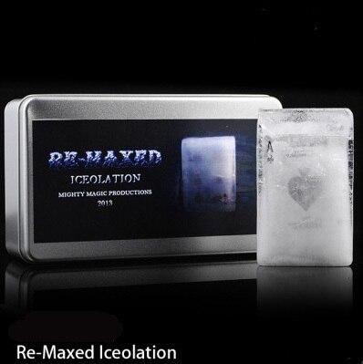Iceolation Re-Maxed (DVD + Gimmick)-astuce, magie de carte, tours de magie, feu, accessoires, dés, comédie, magie mentale