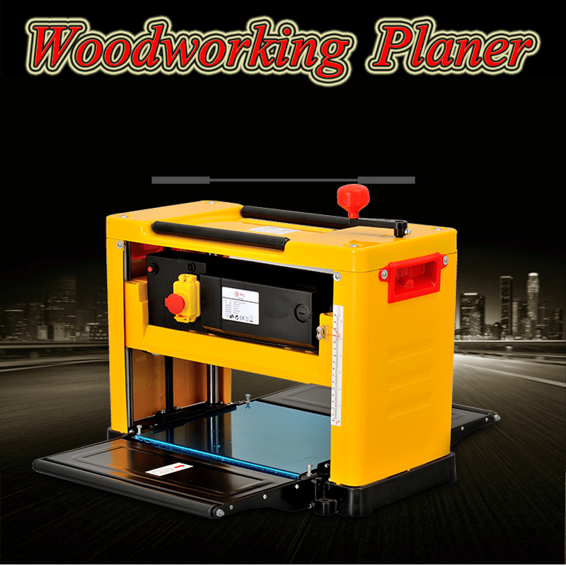 13 Inch Woodworking Planer Multi function 2000W High accuracy Table Woodworking Thicknesser Wood Sander 12155