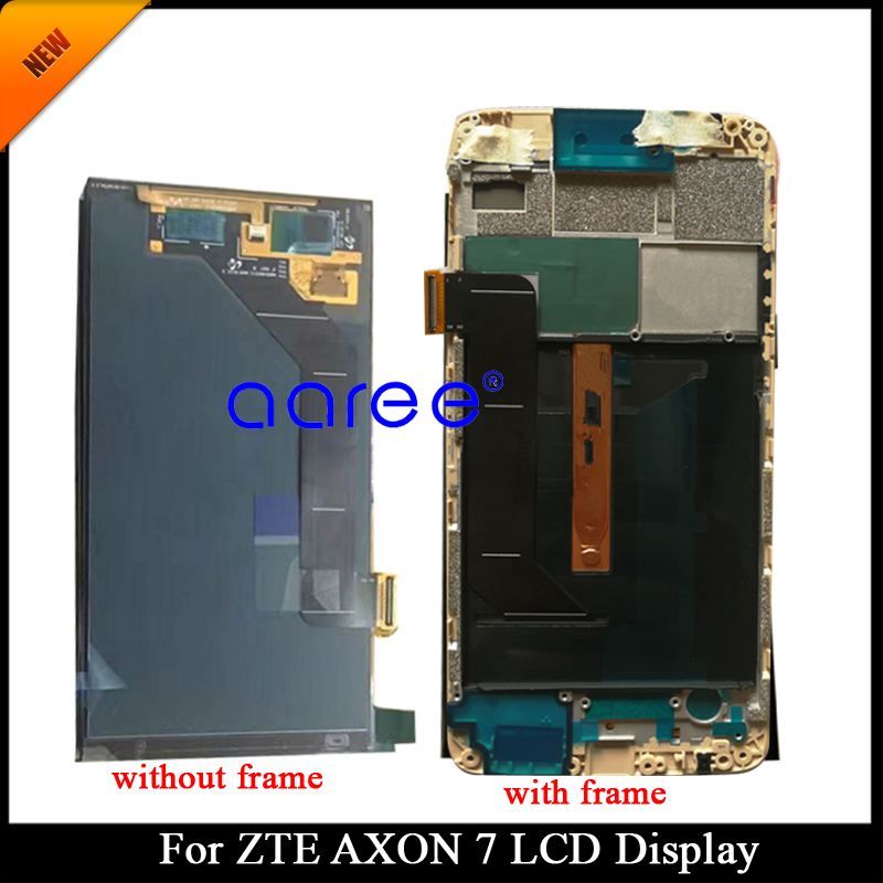 Tracking No 100 tested AMOLED For ZTE Axon 7 LCD For ZTE A2017 A2017U A2017G LCD