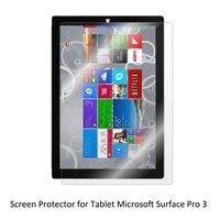 Clear LCD PET Film Anti Scratch Anti Bubble Touch Responsive Screen Protector For Tablet Microsoft Surface