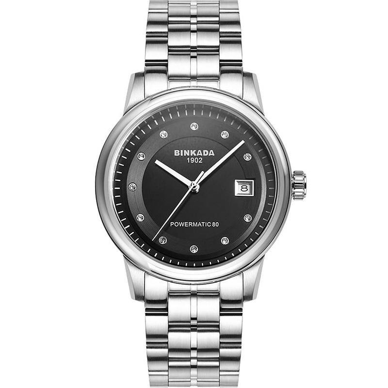 Männer voll automatische mechanische Uhr Strass Kalender Casual - Herrenuhren