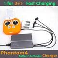 Fantasma 4 Bateria Carregador Placa de Carregamento Paralelo Controle Remoto Inteligente de Multi Carregador de Bateria para DJI Fantasma 4