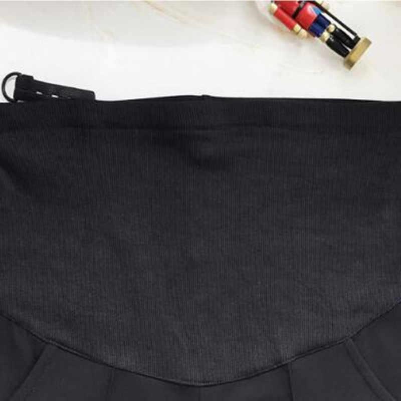 السراويل الأمومة بنطلون للحوامل ملابس نسائية سراويل تقليدية سهلة ملابس الحمل وزرة السراويل التاسعة سراويل الحمل QV875
