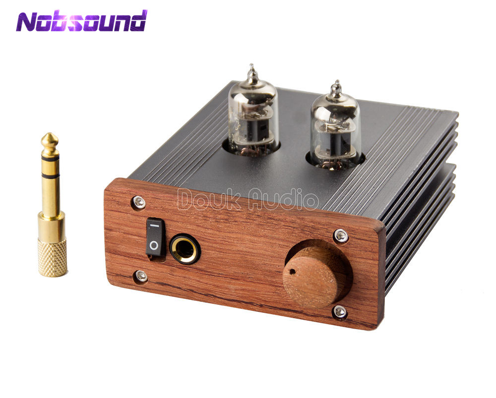 Nobsound Mini 6J1 Tube Amplifier Audio HiFi Pre-Amplifier Single-ended Class A Stereo Amp