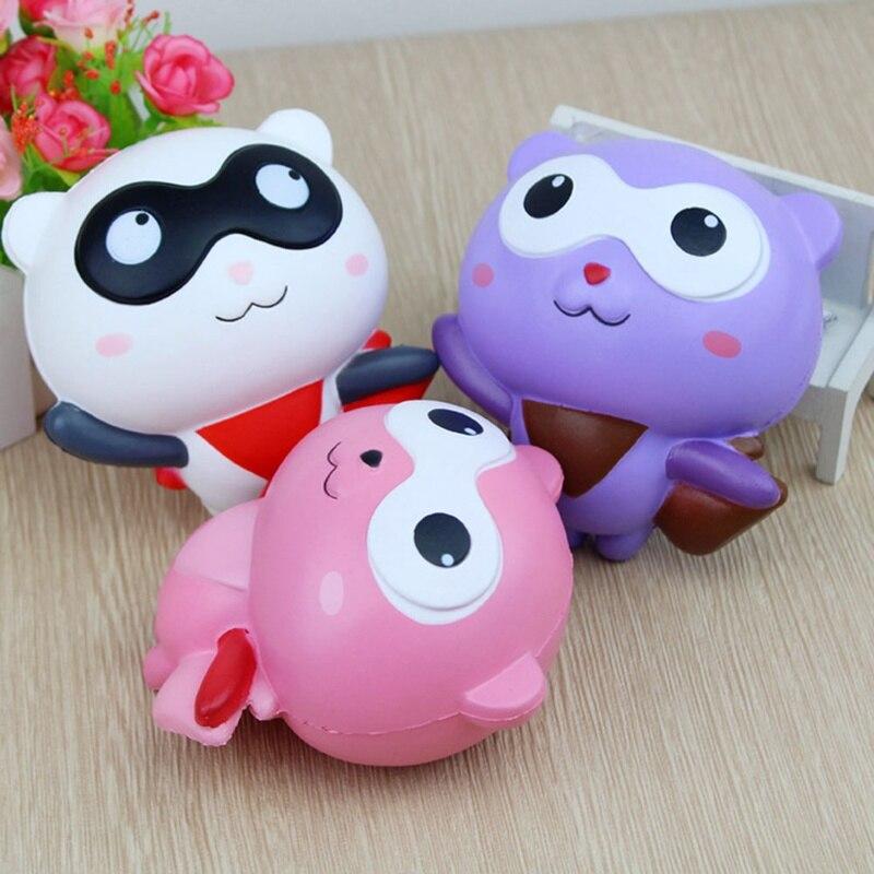 Hero Simulation Charms Stress Releive Toys New Kawaii Squishy Slow Rising Animal