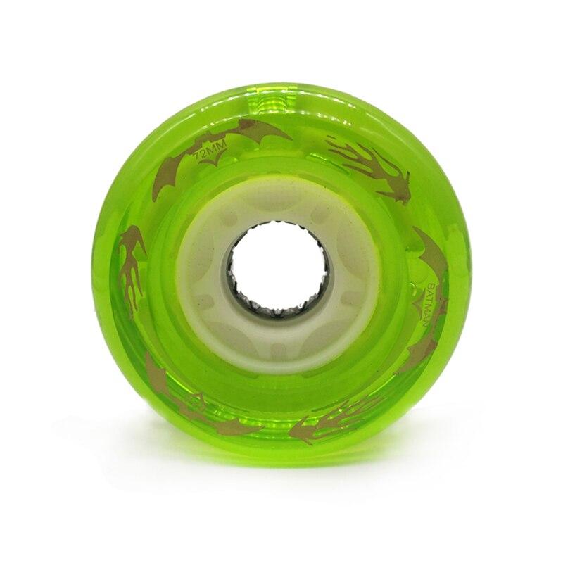 Free Shipping Free Line Skate Wheel Drift Board High Respond Wheel 72*44